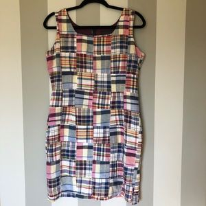 Cynthia Rowely Multi Color Checkered Print Size 8